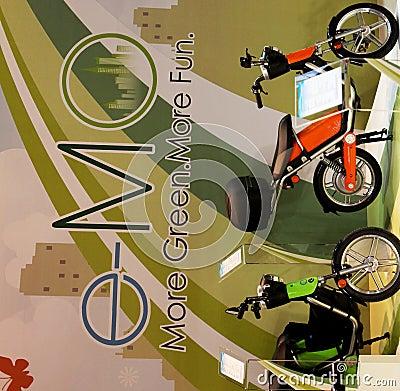Eicma 2009 Editorial Stock Image