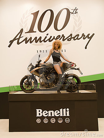 EICMA 2010 - Benelli Stand Editorial Photography