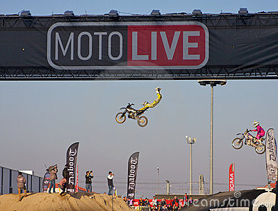 Eicma 2011, freestyle Editorial Image