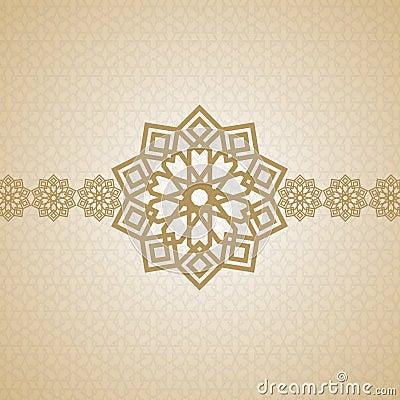 Eid arabic islamic art design