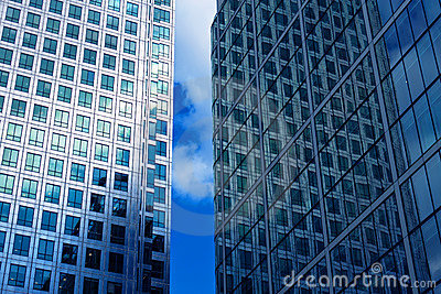 Eien office building windows