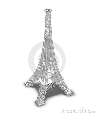 Eifel tower in paris
