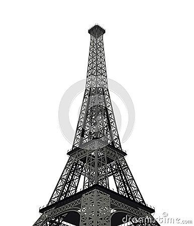 Eifel tower in paris