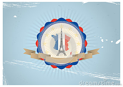Eiffel badge