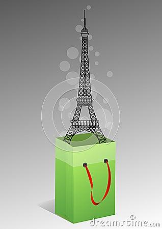 Eiffel bag