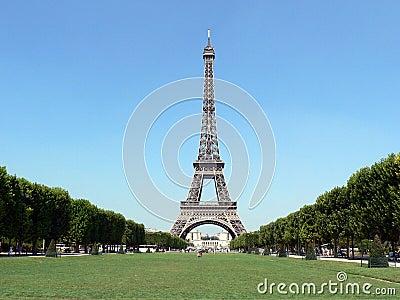 Eiffel torn