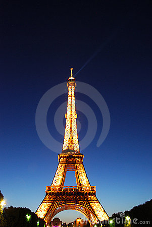 Eiffel Tower Editorial Stock Photo