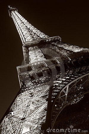 Eiffel Tower Editorial Stock Image