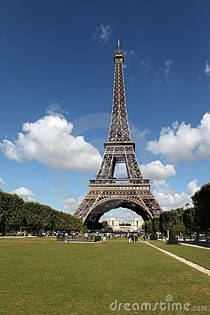 The Eiffel Tower Royalty Free Stock Photos - Image: 15921548