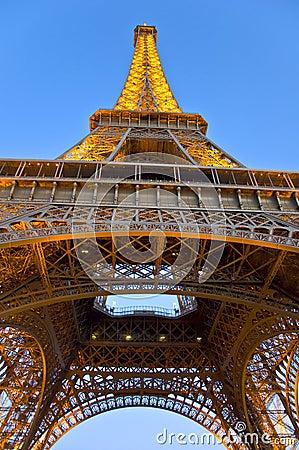 Eiffel Tower Editorial Stock Photo