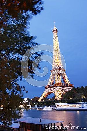 Eiffel Tower Editorial Stock Image