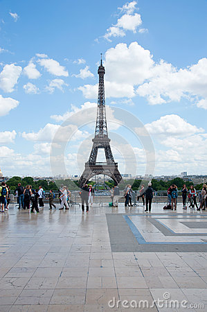 Eiffel tower Editorial Photo