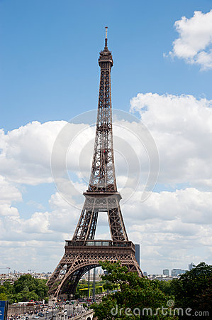 Eiffel tower Editorial Image