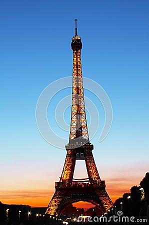 Eiffel Tower Editorial Image