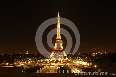 Eiffel tower Editorial Photography