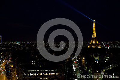 The Eiffel Tower Editorial Image