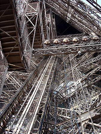 Eiffel Tower detail (Paris/France)
