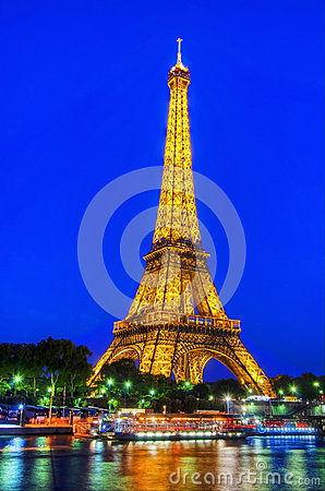 Eiffel tower HDR Editorial Photography