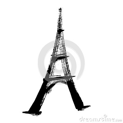 Free Eiffel Tower Illustration Royalty Free Stock Images - 26946489