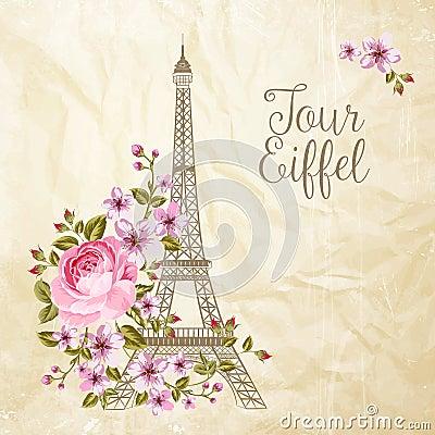 Free Eiffel Tower Illustration. Stock Photos - 78252383