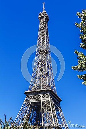 Eiffel Tower (La Tour Eiffel) in Paris, France.