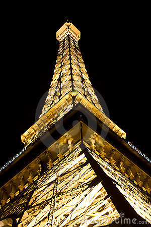 Eiffel Tower in Las Vegas Editorial Image