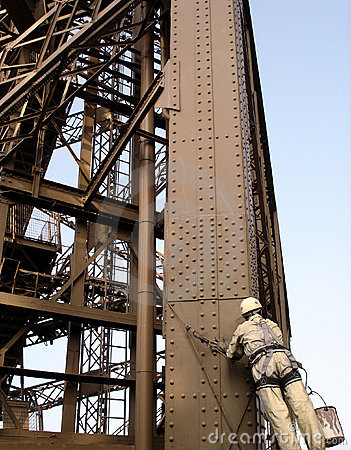 Eiffel Tower Maintenance (Paris/France)
