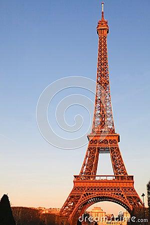 Eiffel Tower morning light Paris , France