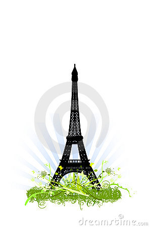 Eiffel tower ornaments design