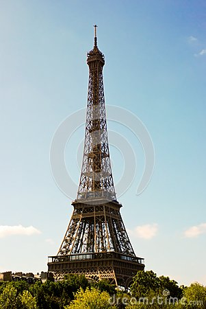 Paris Eiffel Tower Picture on Royalty Free Stock Image  Eiffel Tower In Paris  Image  15460286