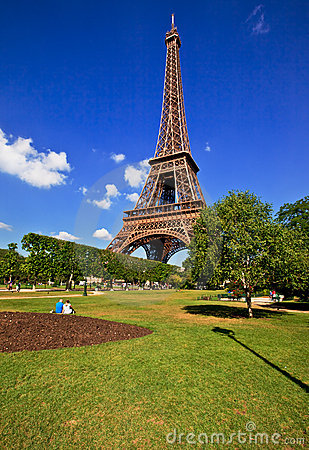 Eiffel Tower of Paris Editorial Photography