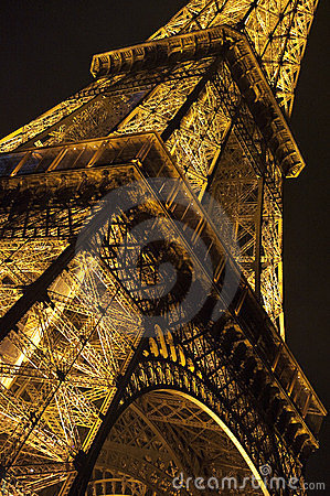 Eiffel Tower, Paris Editorial Photography