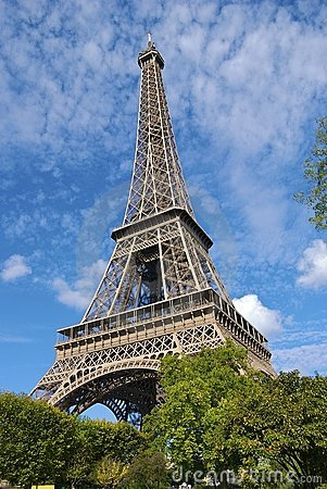 Paris Eiffel Tower Pictures  Information on Stock Image  Eiffel Tower Paris  Image  7119381