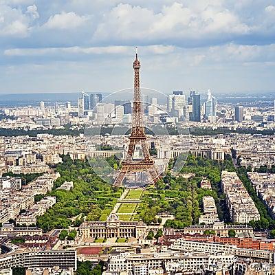 The Eiffel Tower, Paris - France