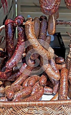 Eigengemaakt gerookt vlees
