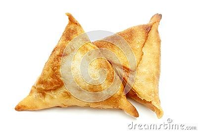 Eigengemaakte samosas