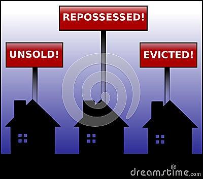Eigentum-Krise