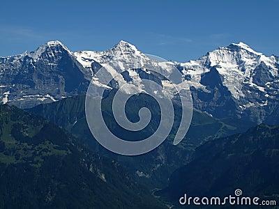 Eiger Mönch and Jungfrau