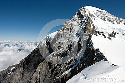 The Eiger - a mountain in the Bernese Alps