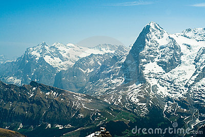 Eiger and Wetterhorn