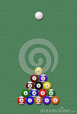 Eight-Ball game (Illustration)