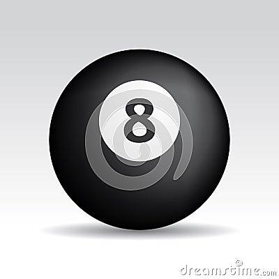 Eight ball shadows