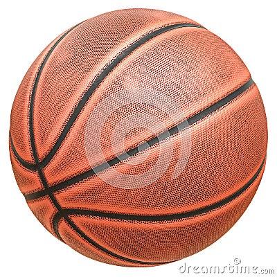 Free Eight-panel Basketball Ball Royalty Free Stock Image - 51753236