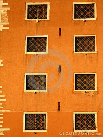 Free Eight Windows In Venice Stock Image - 24266211