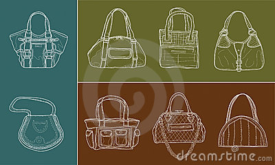 Eight women bags