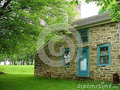 Eighteen century house