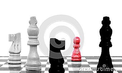 Eighth rank on chess board