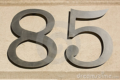 Eighty Five number