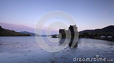 Eilan Donan Castle at sunrise