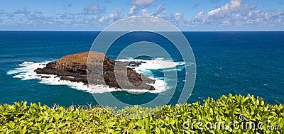 Eiland van Ae ae van Moku het  dichtbij Kauai